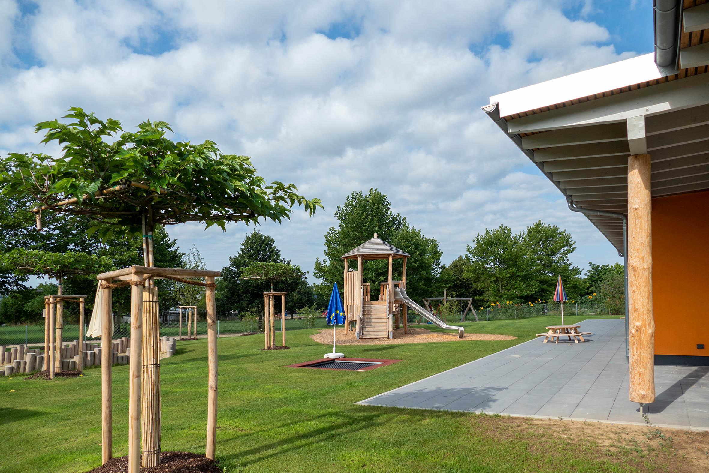 Kindergarten Günzburg Spielplatz