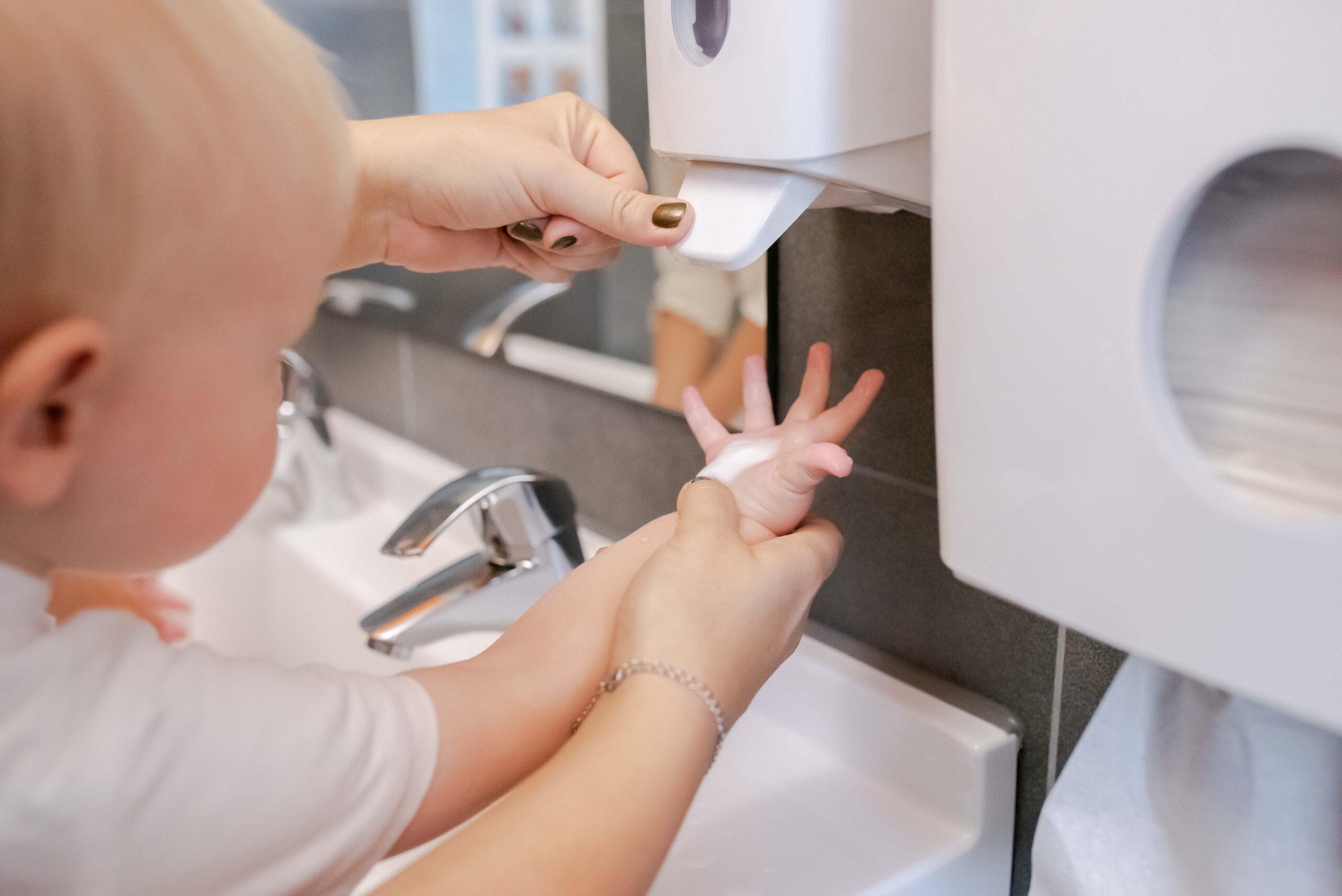 Hygiene Kleinkinder